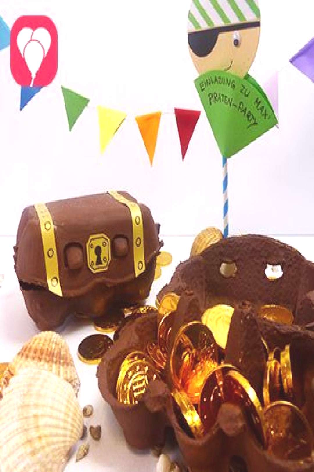For real pirates tinker treasure chest - balloonas - -