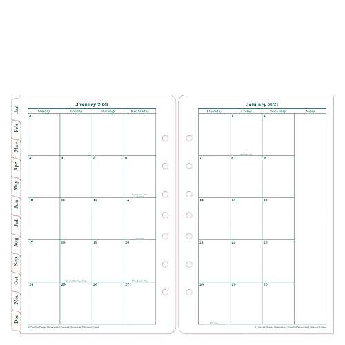 FranklinCovey Classic Original Two Page Per Day Ring-Bound