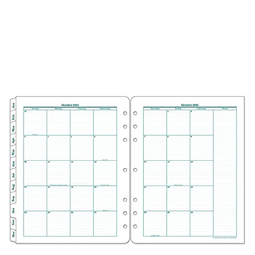 FranklinCovey Monarch Original Two Page Per Day Ring-Bound