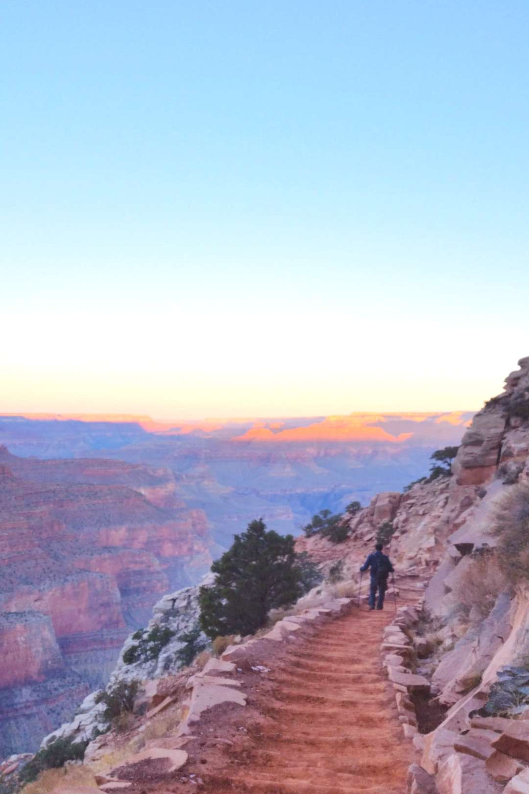 Grand Canyon sunrise hiking national park picture