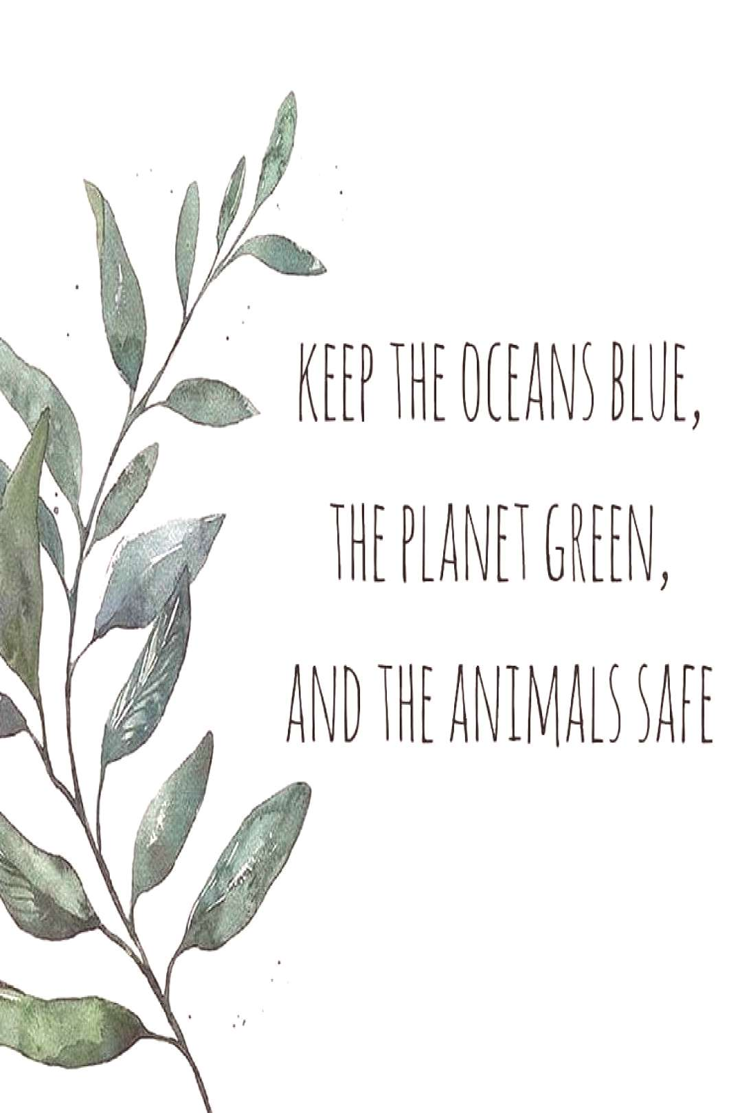 It's our responsibility to protect our planet. Together as a collective we have the capability of