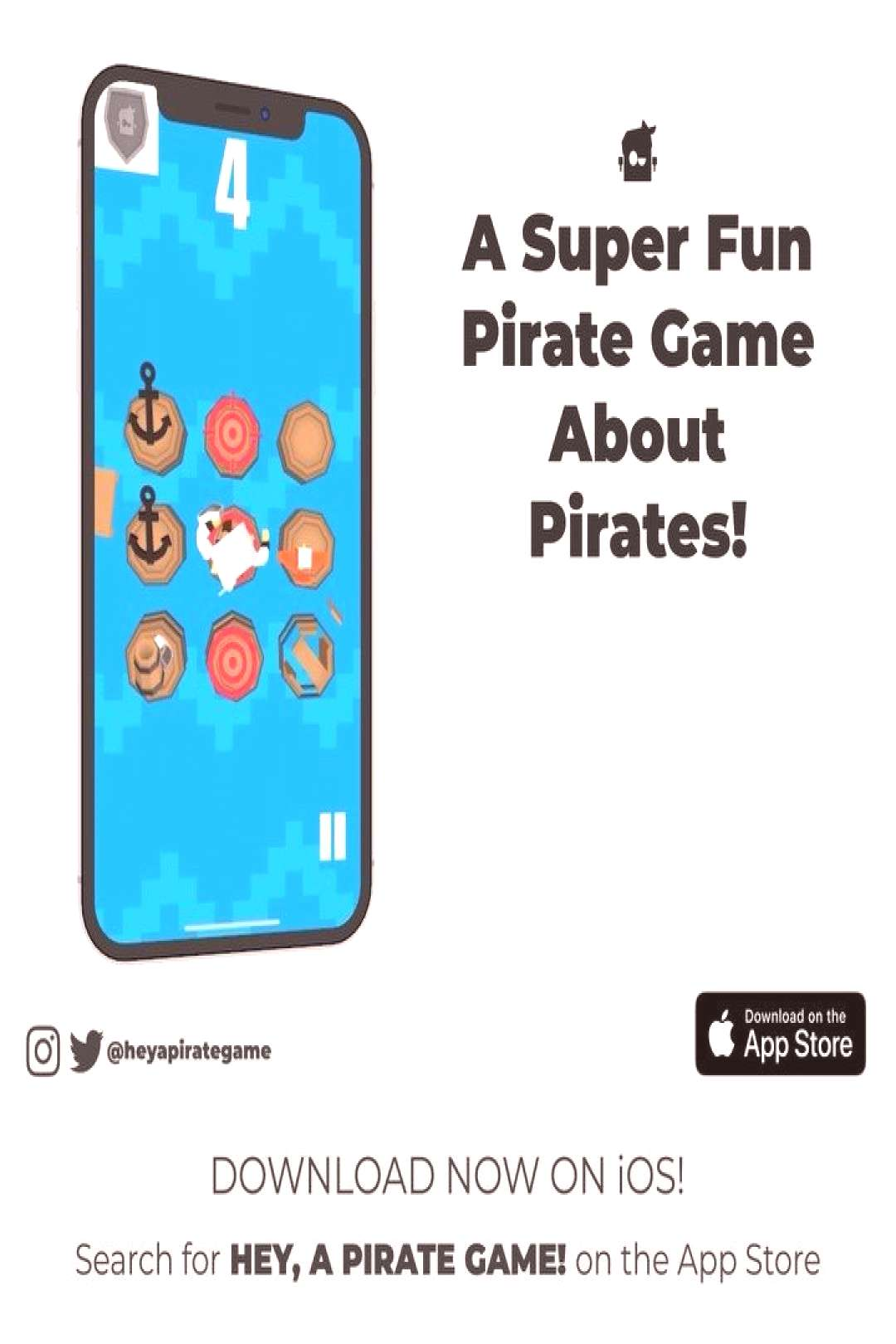 Jump around on barrels just like ancient Pirates used to do! Search for quotHey, a Pirate Game!quot in th