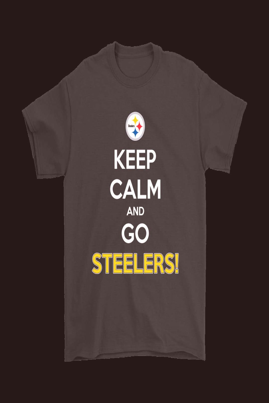 Keep Calm And Go Pittsburgh Steelers NFL Shirts – NFL T-Shirts Store -