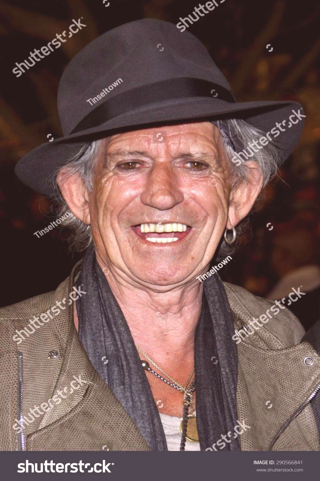 Keith Richards at the Los Angeles premiere of Pirates Of The Caribbean On Stranger Tides held at