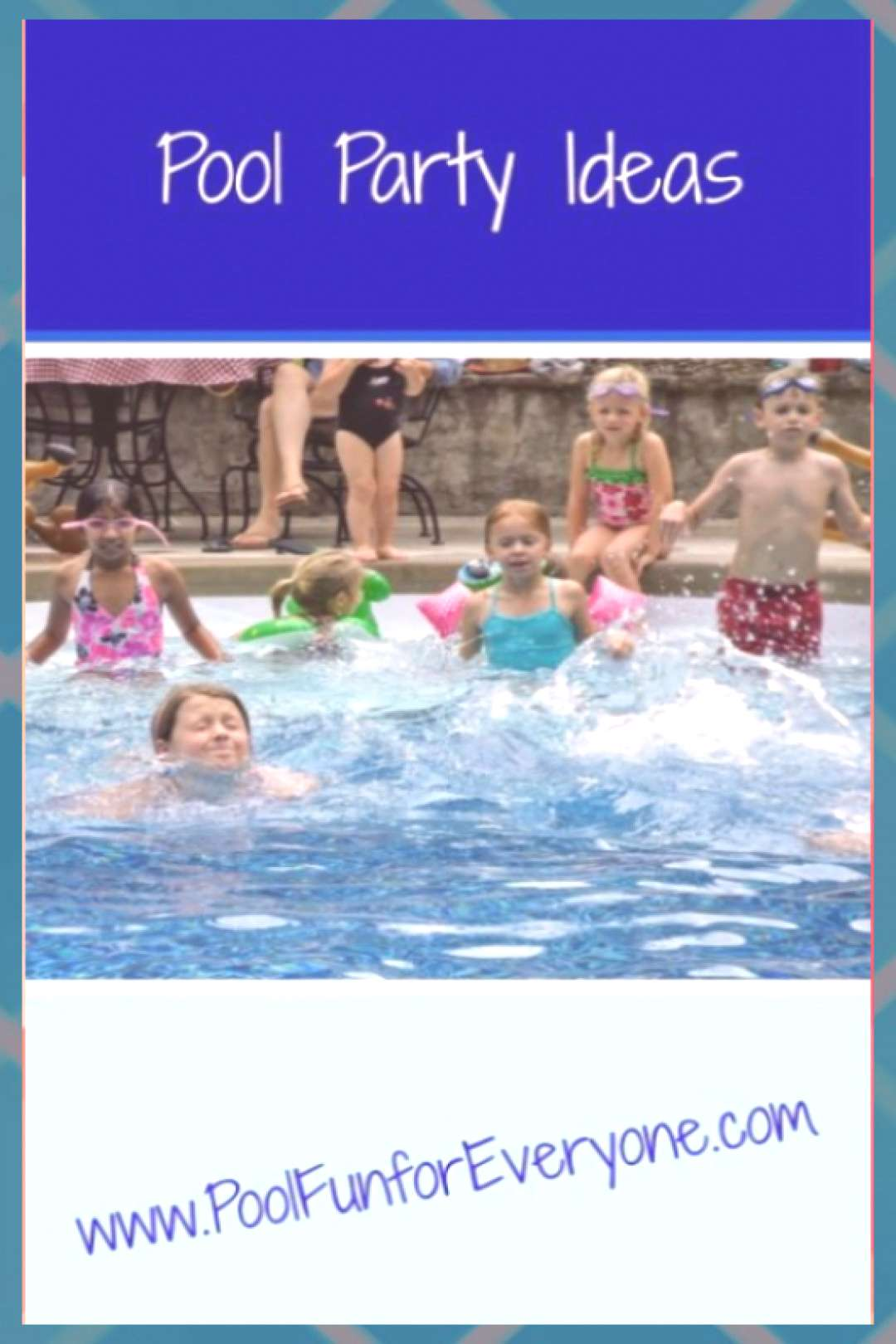 Kids Pool Party Ideas - Mermaids, Pirates and Hopping Frogs Pool Party Ideas