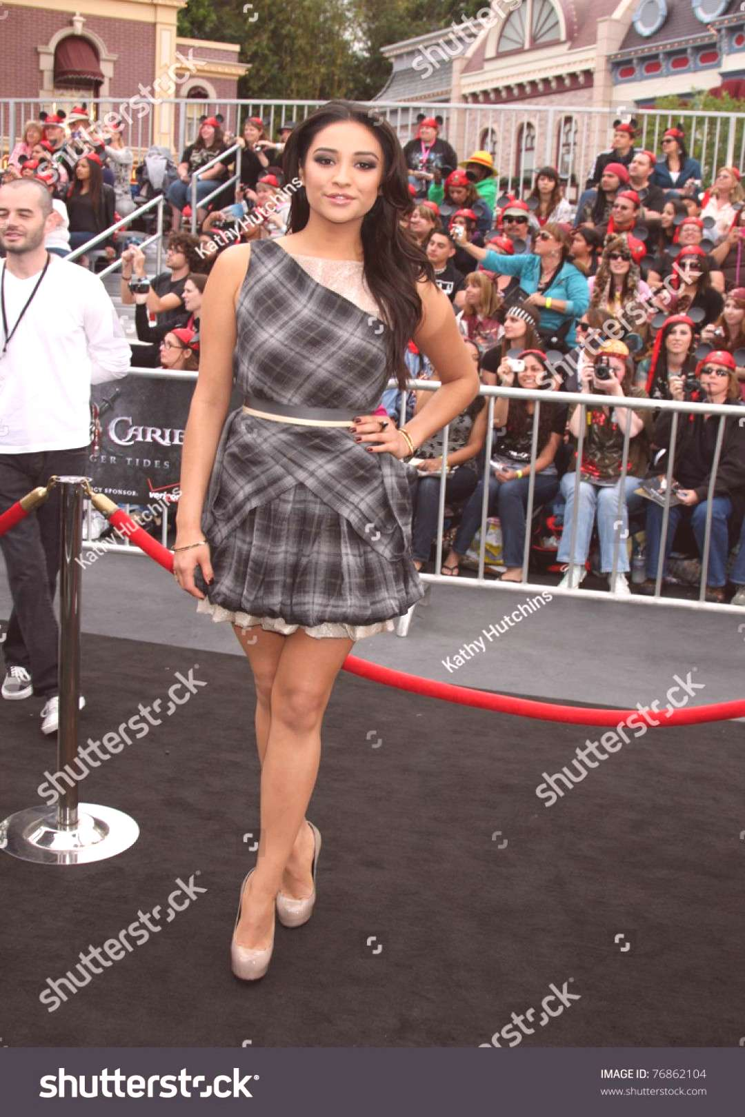 LOS ANGELES - MAY 7 Shay Mitchell arriving at the quotPirates of The Caribbean On Stranger Tides