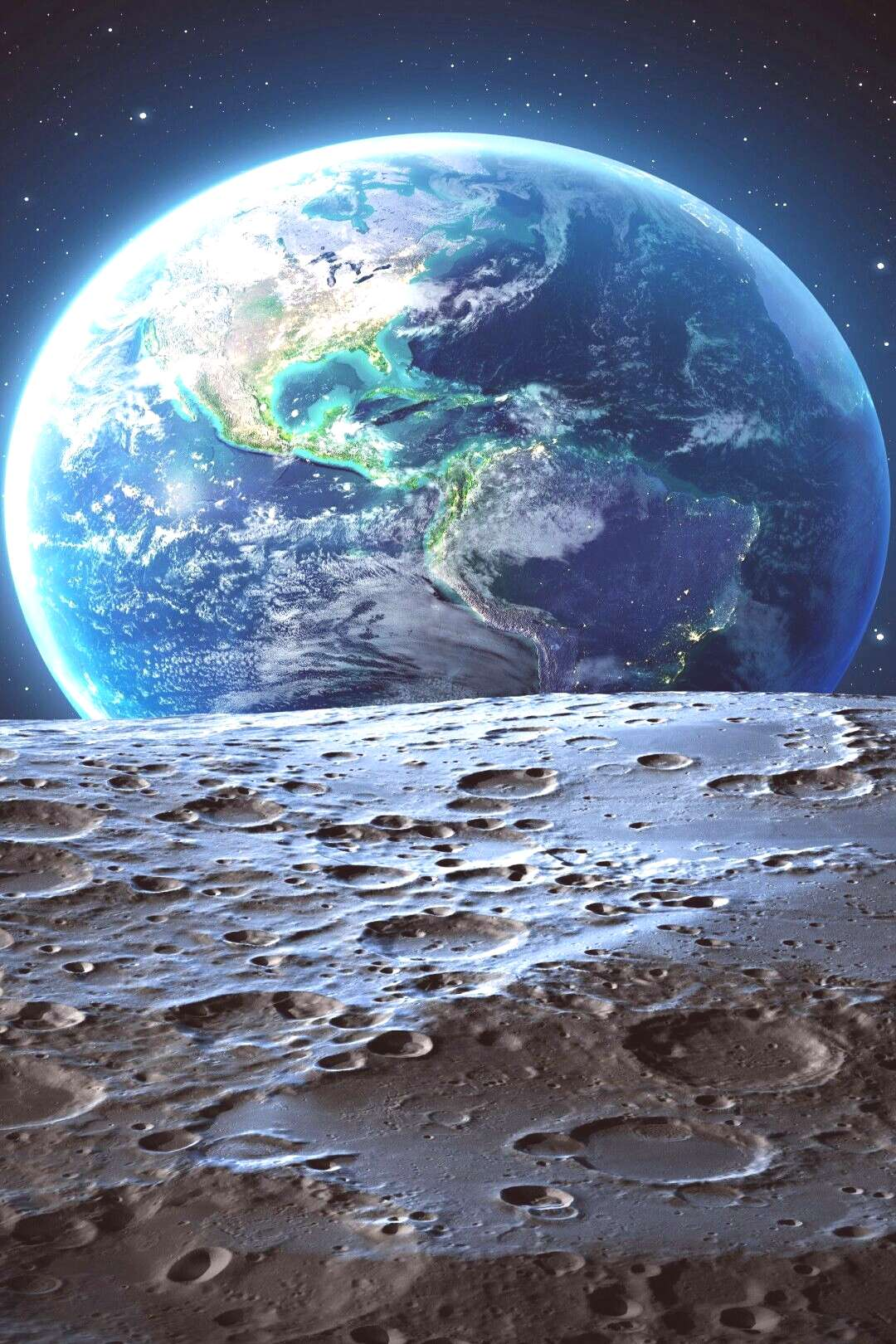 Magic Look at Planet Earth wallpaper Backgrounds
