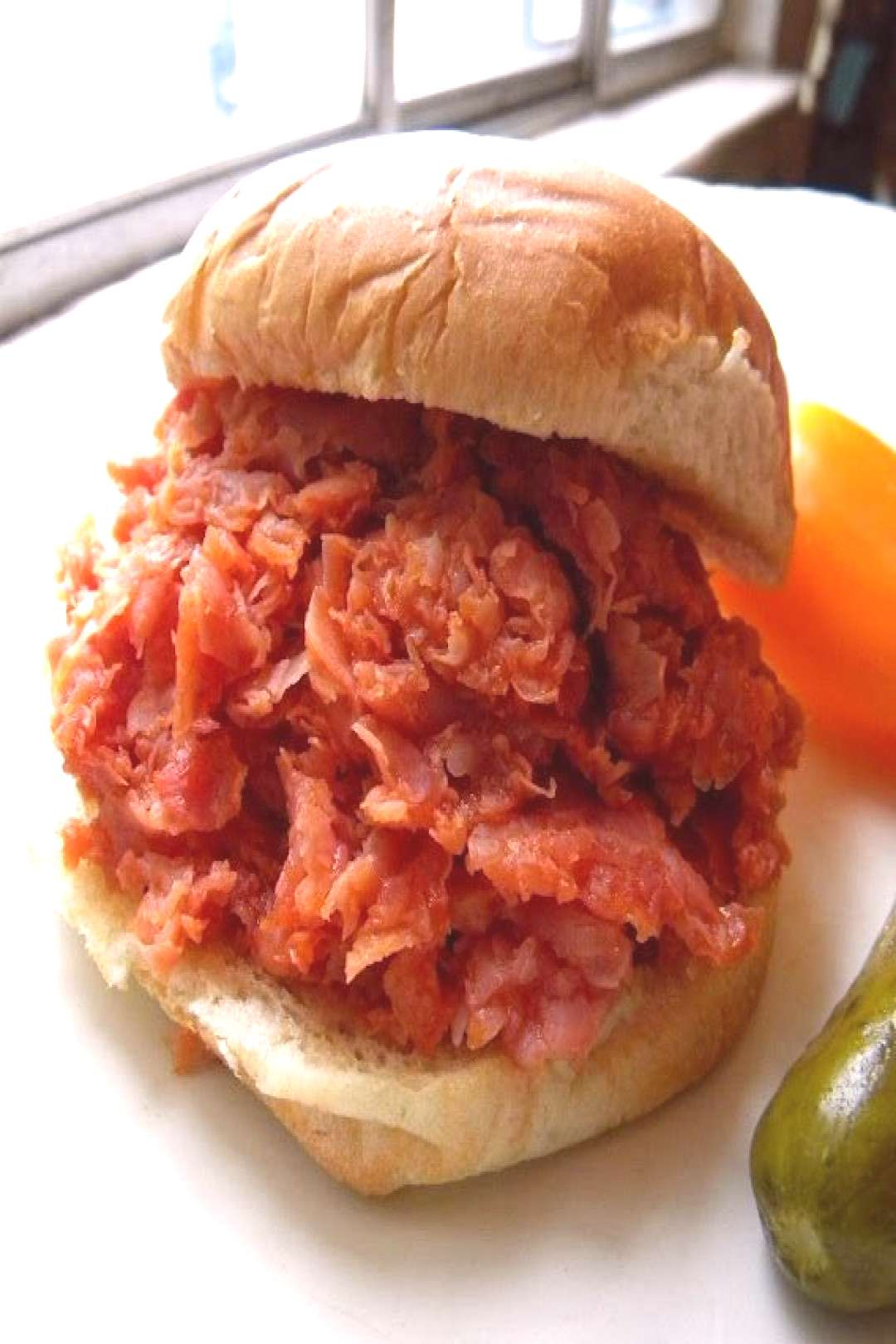 Mysteries of Pittsburgh How to Make a BBQ Chipped Ham Sandwich by Cleo Coyle -