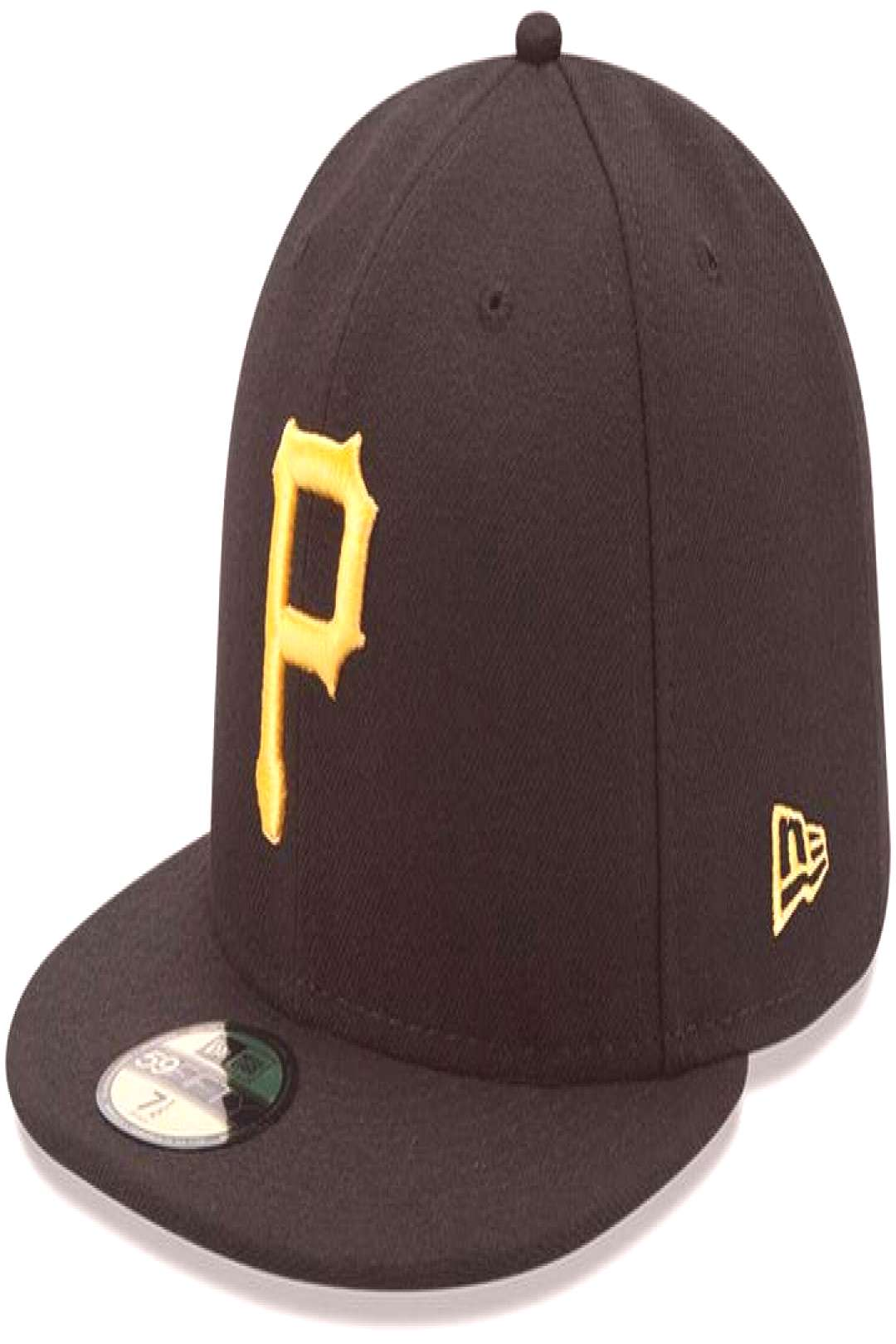 New Era Youth Black Pittsburgh Pirates Authentic Collection On-Field Game 59FIFTY Fitted Hat ,