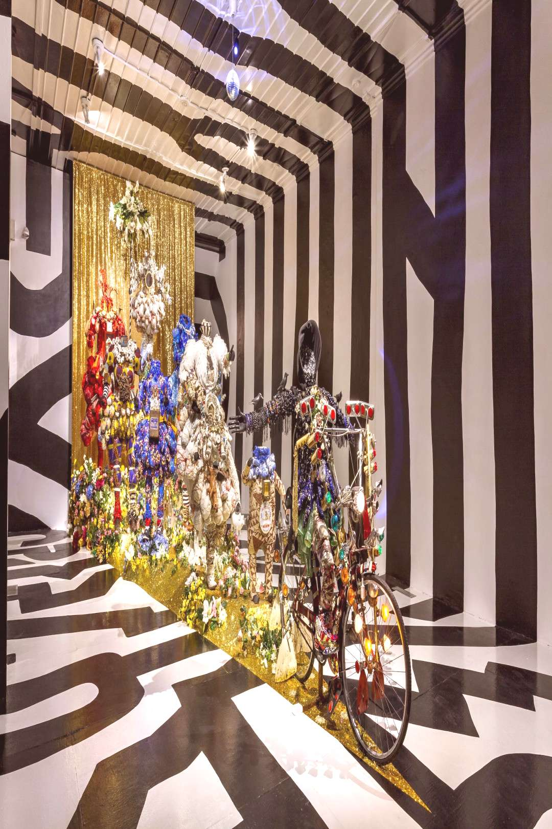 New Installations 40th Year. Through July 2018. Mattress Factory, Pittsburgh, PA Forty... - -