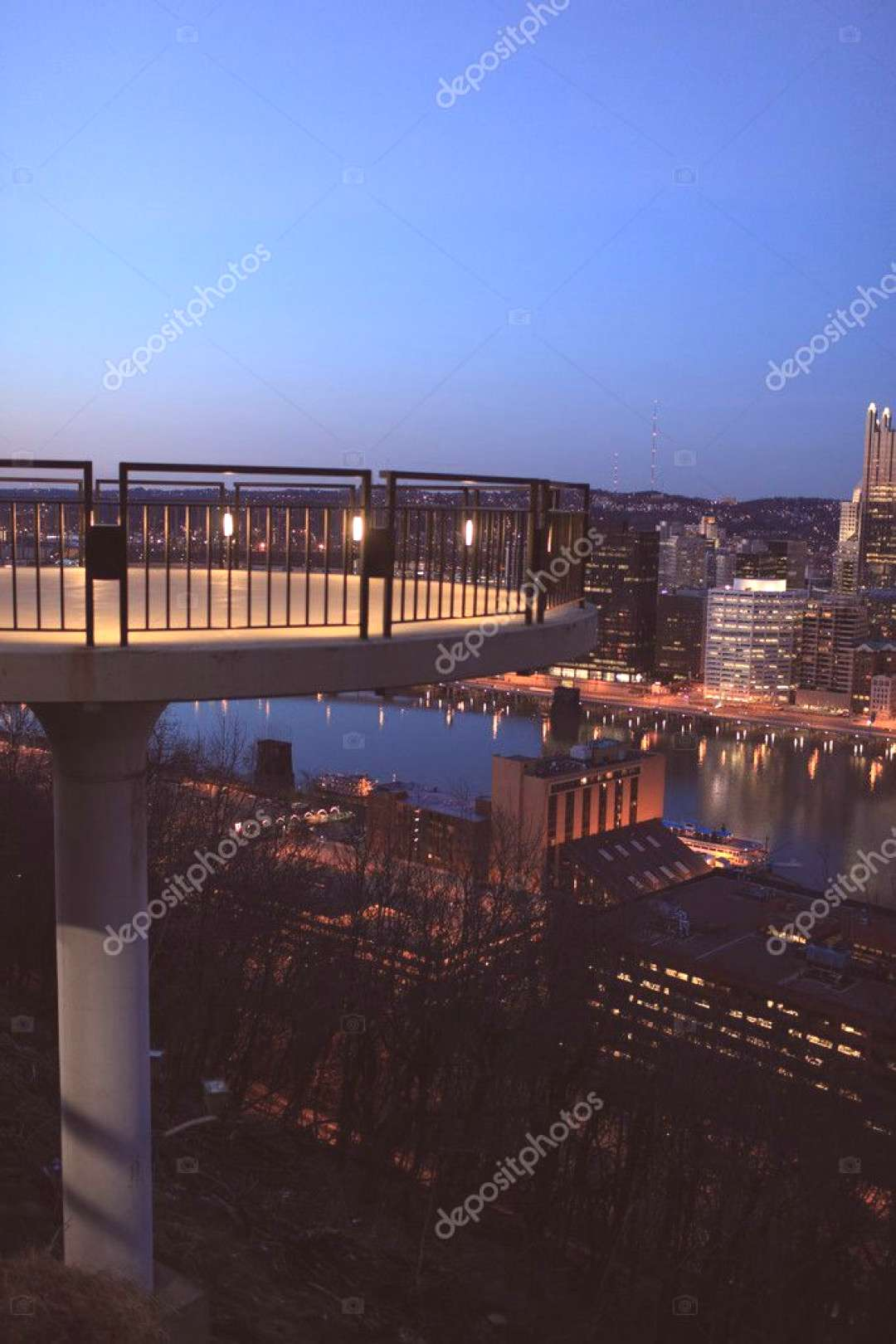 Observatory Hill Pittsburgh - Stock Photo ,