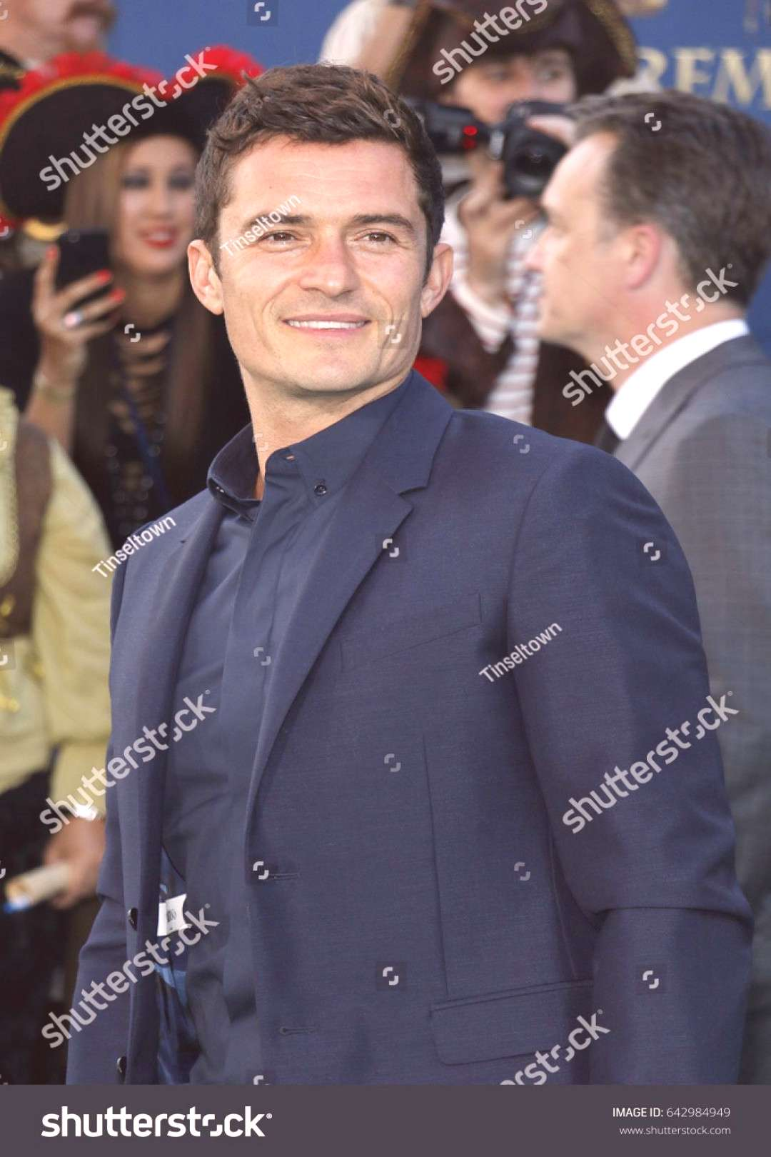 Orlando Bloom at the U.S. premiere of Pirates Of The Caribbean Dead Men Tell No Tales held at th