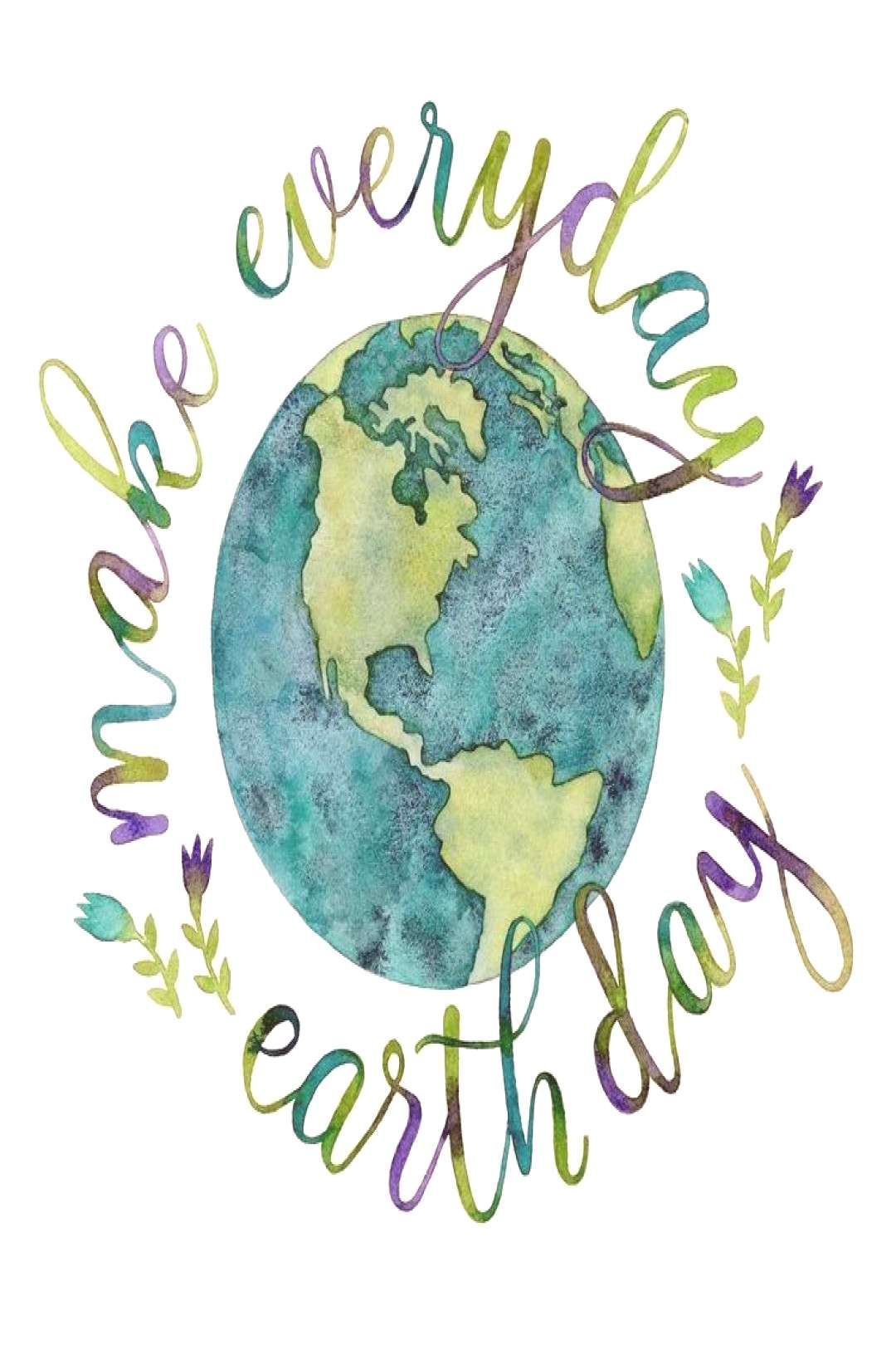 Photo Credit Unknown Make every day Earth Day. Every single breath you take is a significantexpr