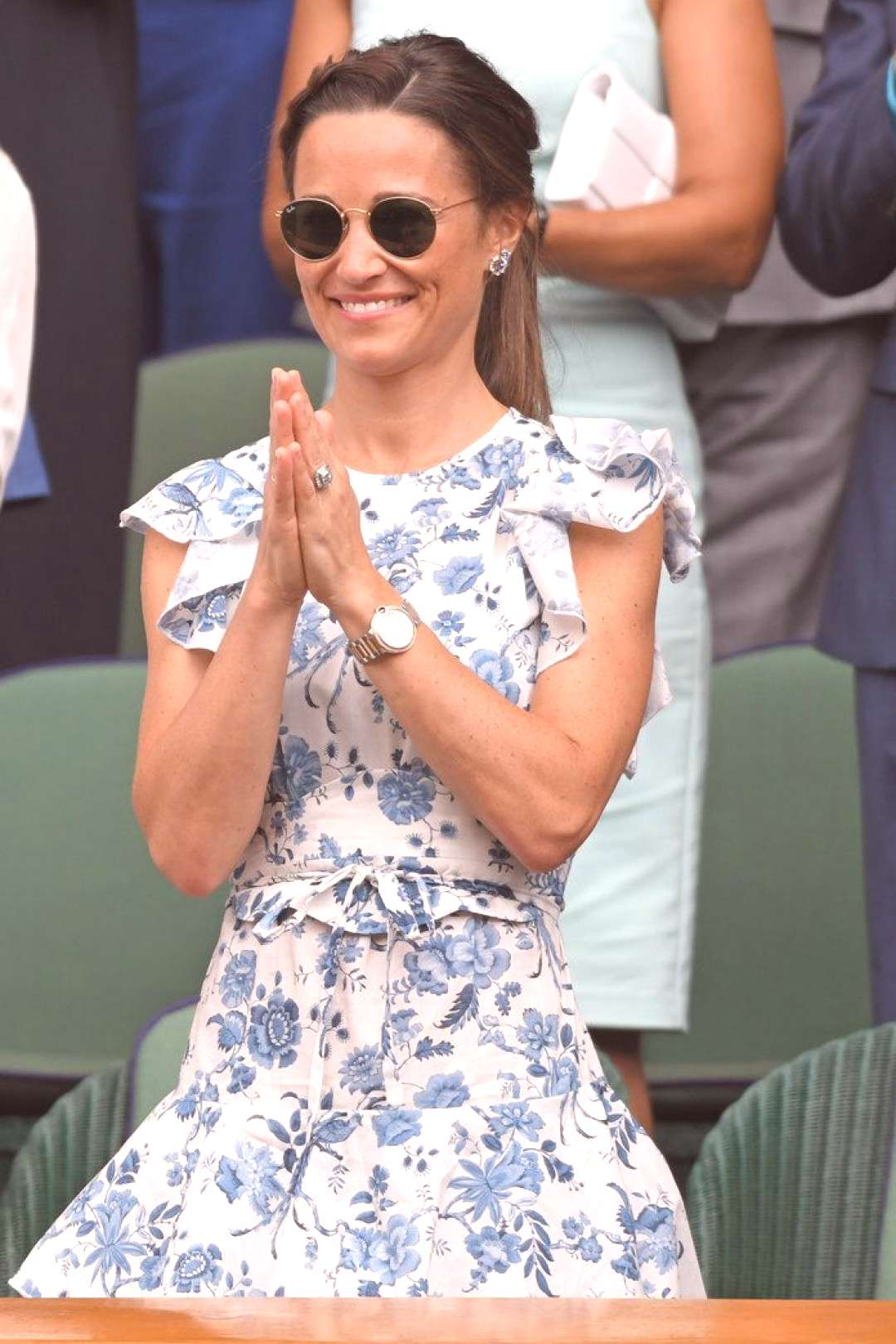 Pippa Middleton Just Third-Wheeled Meghan Markle and Sister Kates Wimbledon Outing