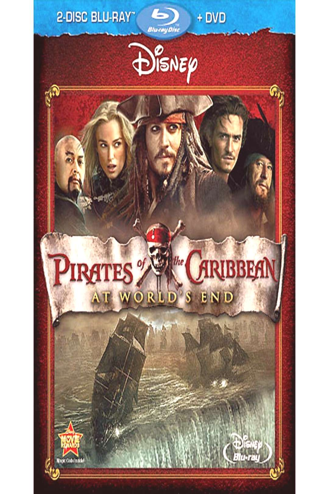 Pirates of the Caribbean At Worlds End - 2-Disc Blu-Ray  DVD shopDisney