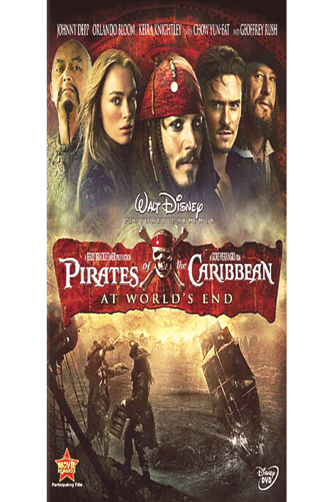 Pirates of the Caribbean At Worlds End DVD shopDisney