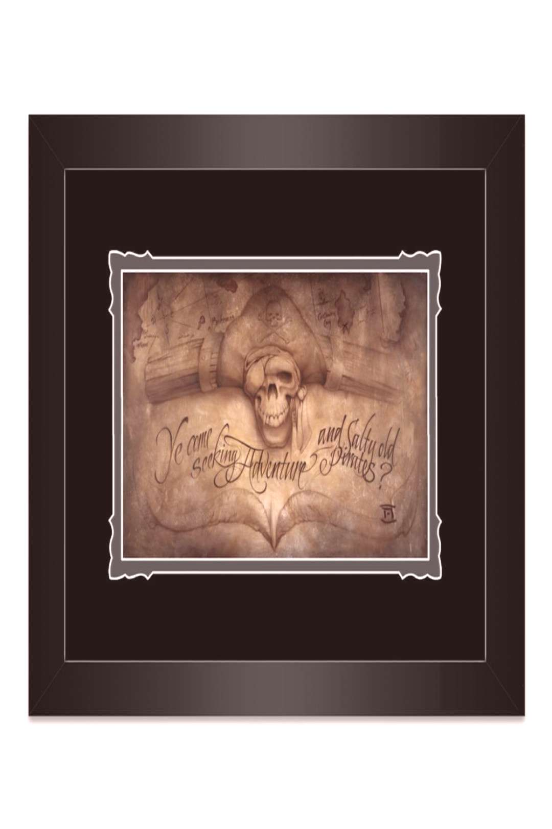 Pirates of the Caribbean High Seas Adventure Framed Deluxe Print by Noah shopDisney