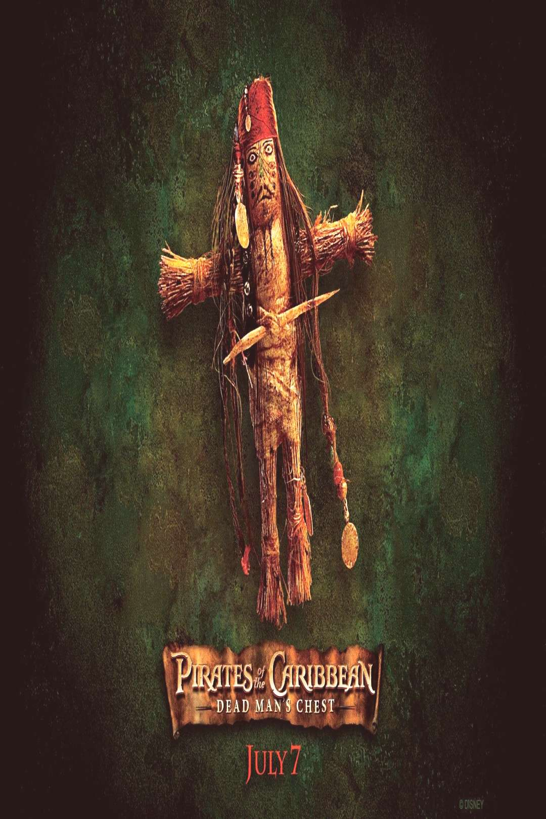 Pirates of the Caribbean Jack Sparrow Voodoo Doll HD