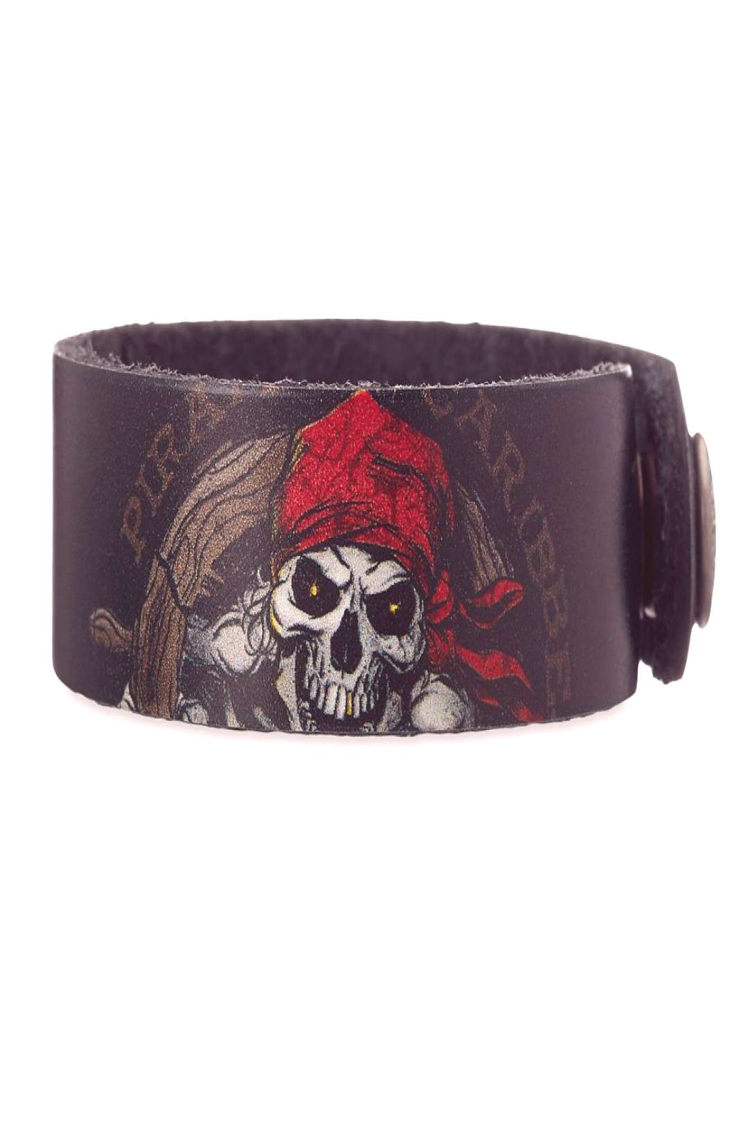 Pirates of the Caribbean Leather Bracelet - Personalizable shopDisney