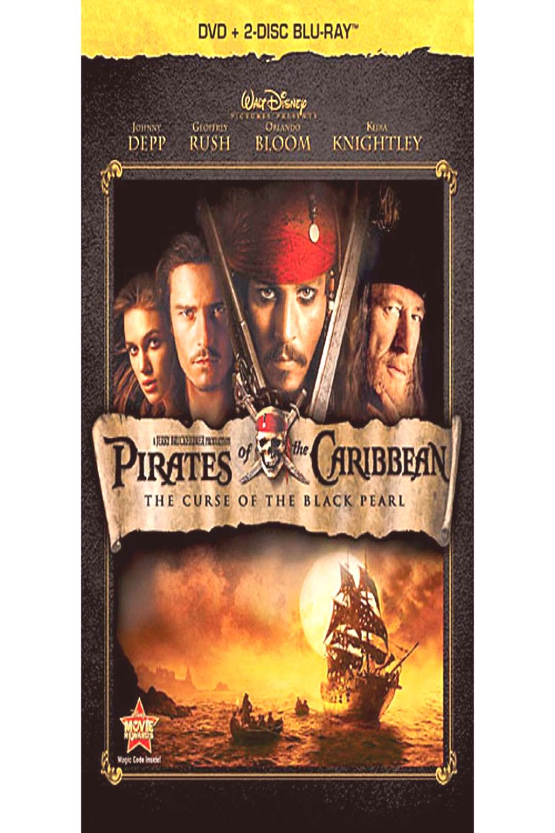 Pirates of the Caribbean The Curse of the Black Pearl - 3-Disc Set shopDisney
