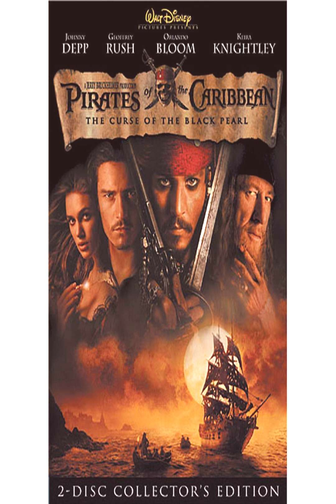 Pirates of the Caribbean The Curse of the Black Pearl DVD shopDisney