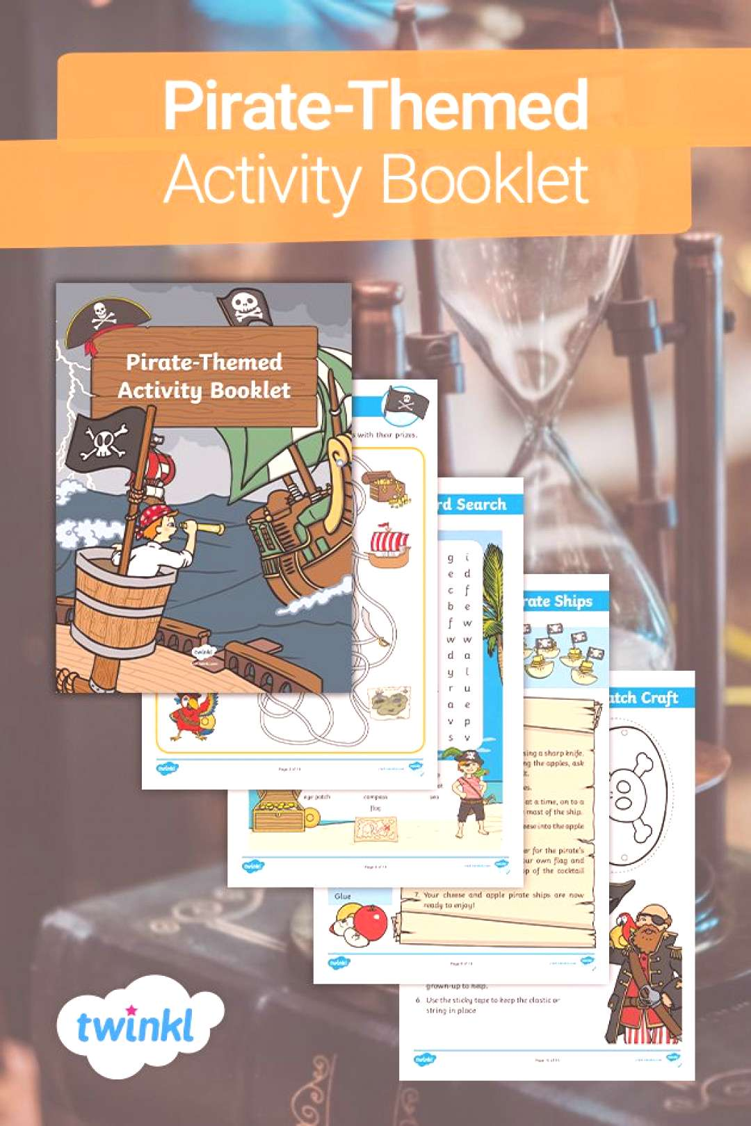 Pirate-Themed Activity Booklet! If your child loves pirates or youre having a pirate topic at sch