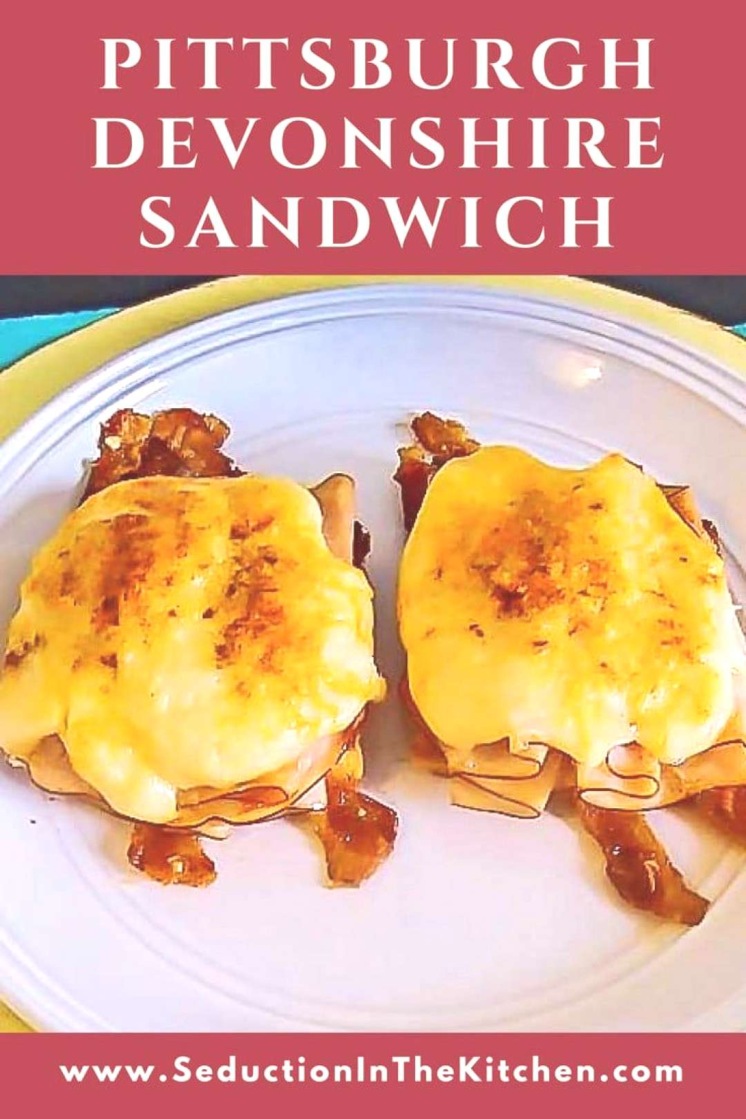 Pittsburgh Devonshire Sandwich is an open face turkey sandwich that is part of the Pittsburgh sandw
