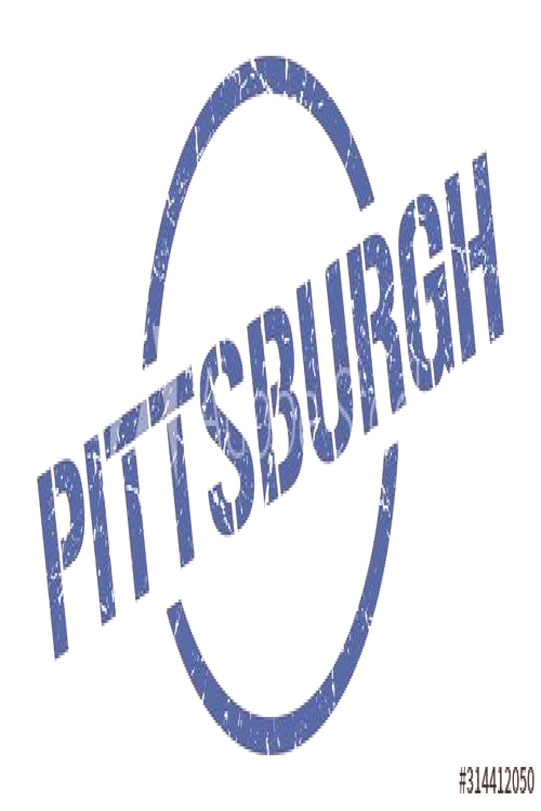 Pittsburgh stamp. Pittsburgh grunge round isolated sign ,