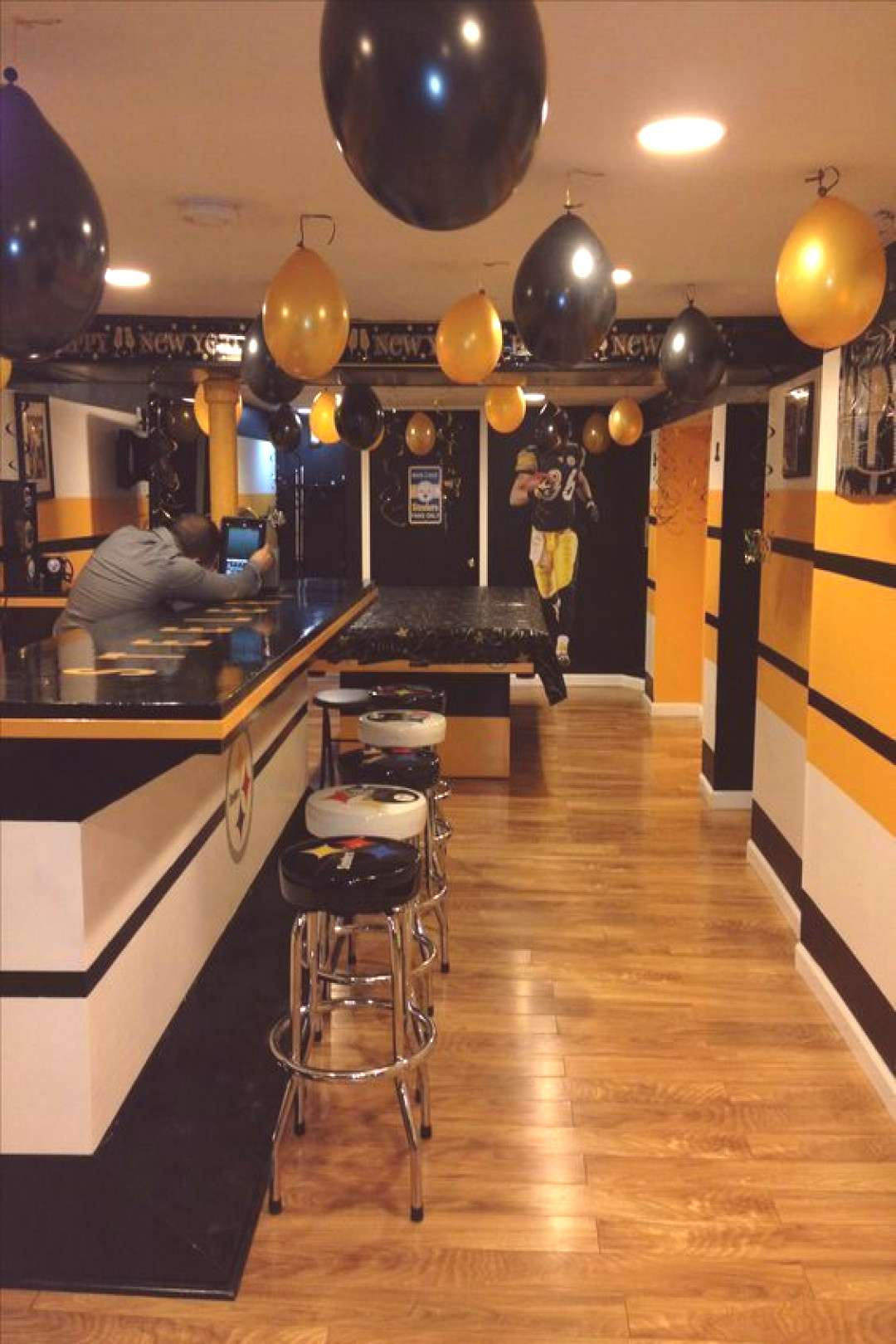 Pittsburgh Steelers Man Cave Supplies View prices on neat gear for your Steelers man cave.