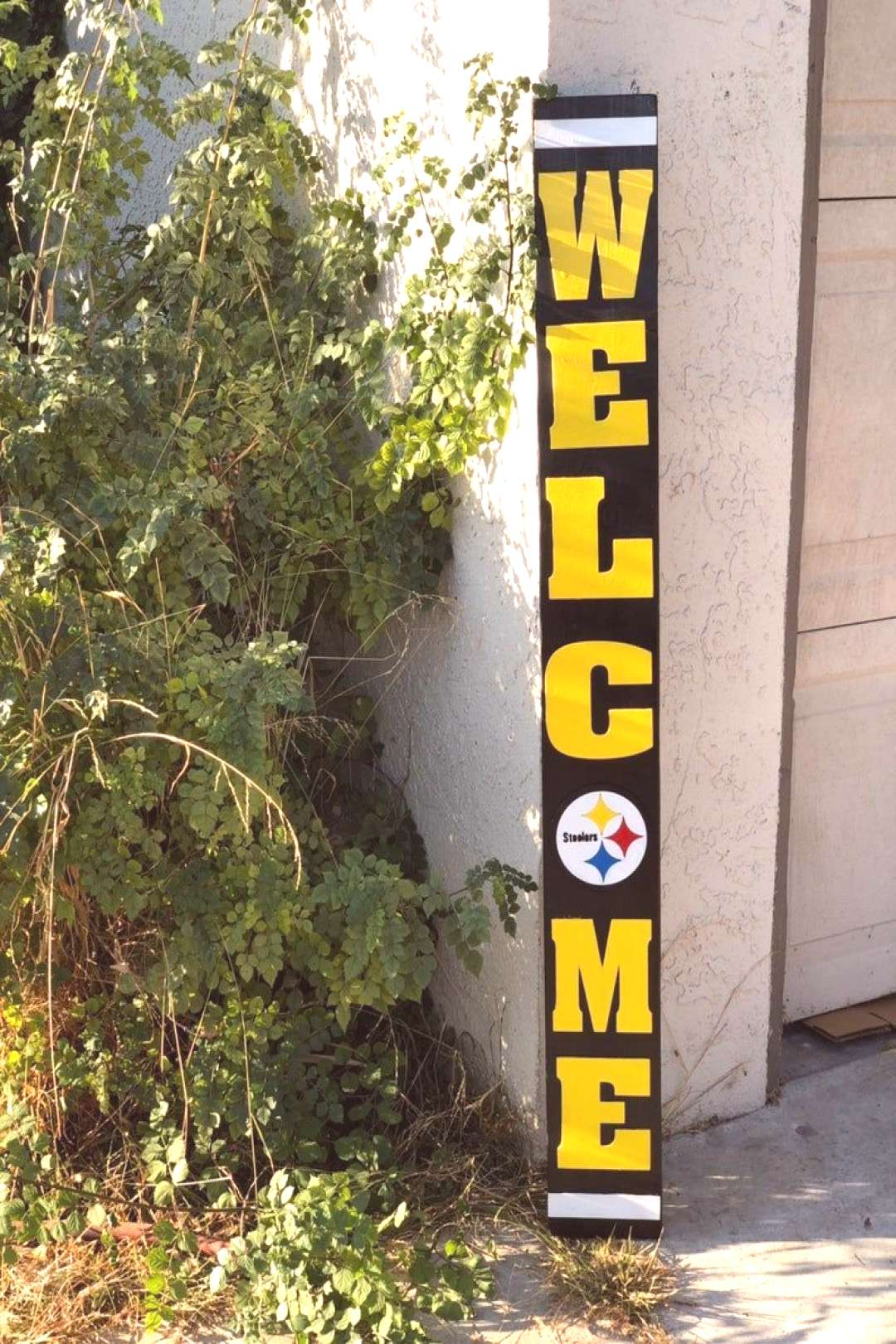 Pittsburgh Steelers Welcome Sign#pittsburgh