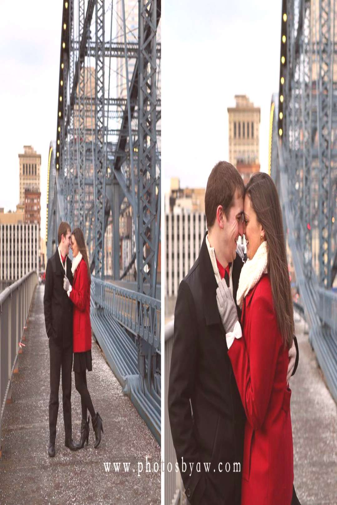 Pittsburgh Winter Engagement Session - ©Copyright 2016 Photography by Amanda Wilson -