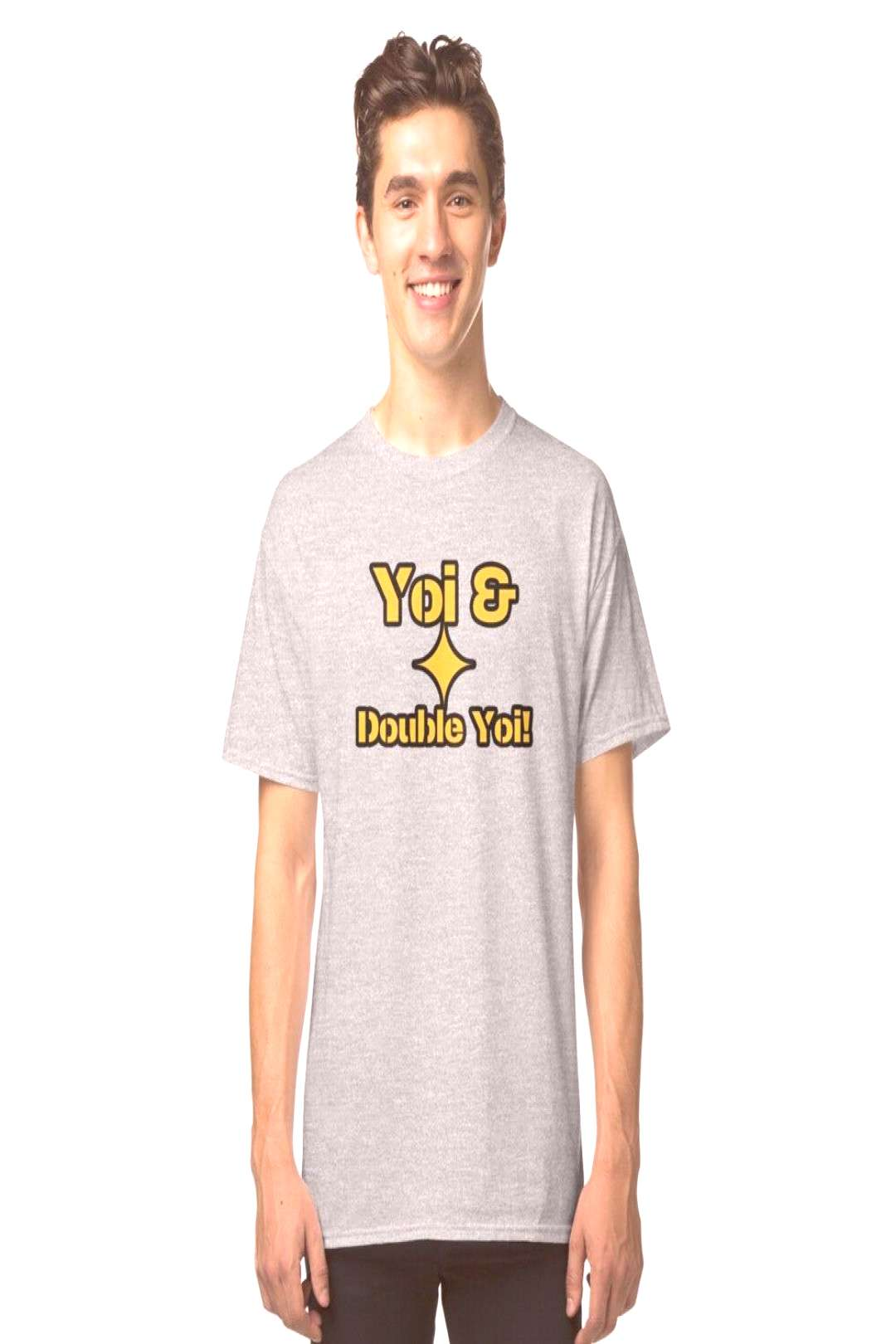Pittsburgh Yoi and Double Yoi Steelers History Shirt Sticker Classic T-Shirt by Aaron Geraud - G