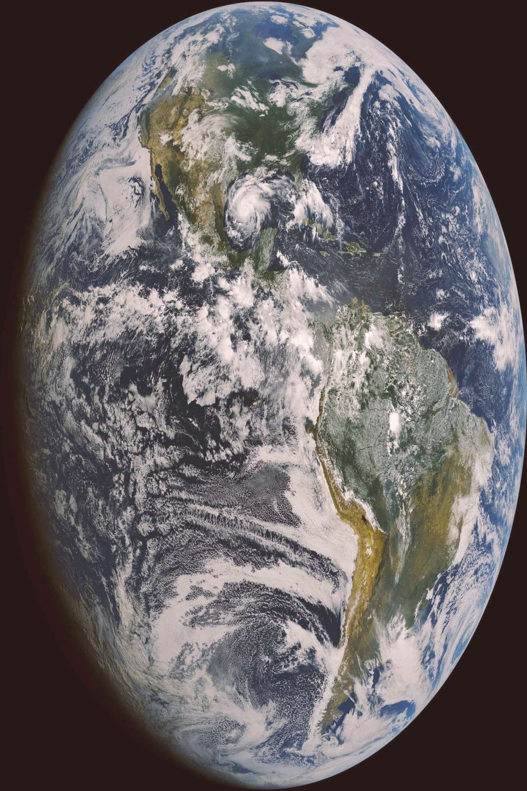 Planet Earth. Of all the planets in our solar system, this is the only one known to harbour life.  