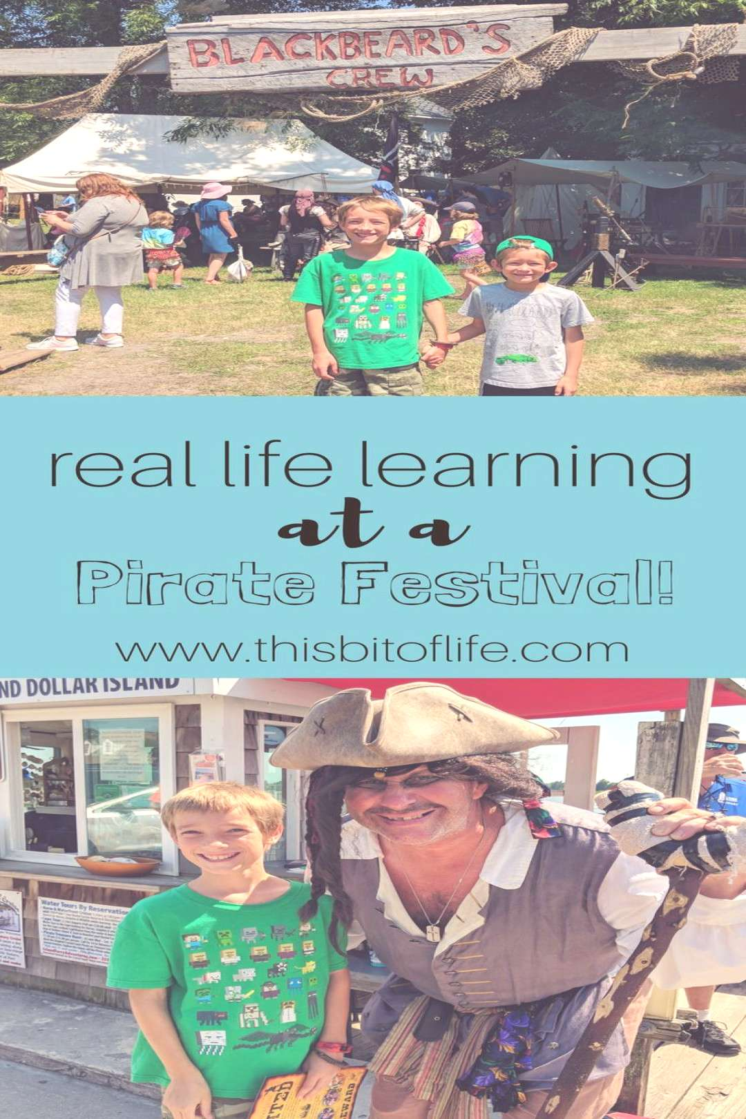 Real Life Learning at a Pirate Festival - This Bit of Life Real life learning at a pirate festival.