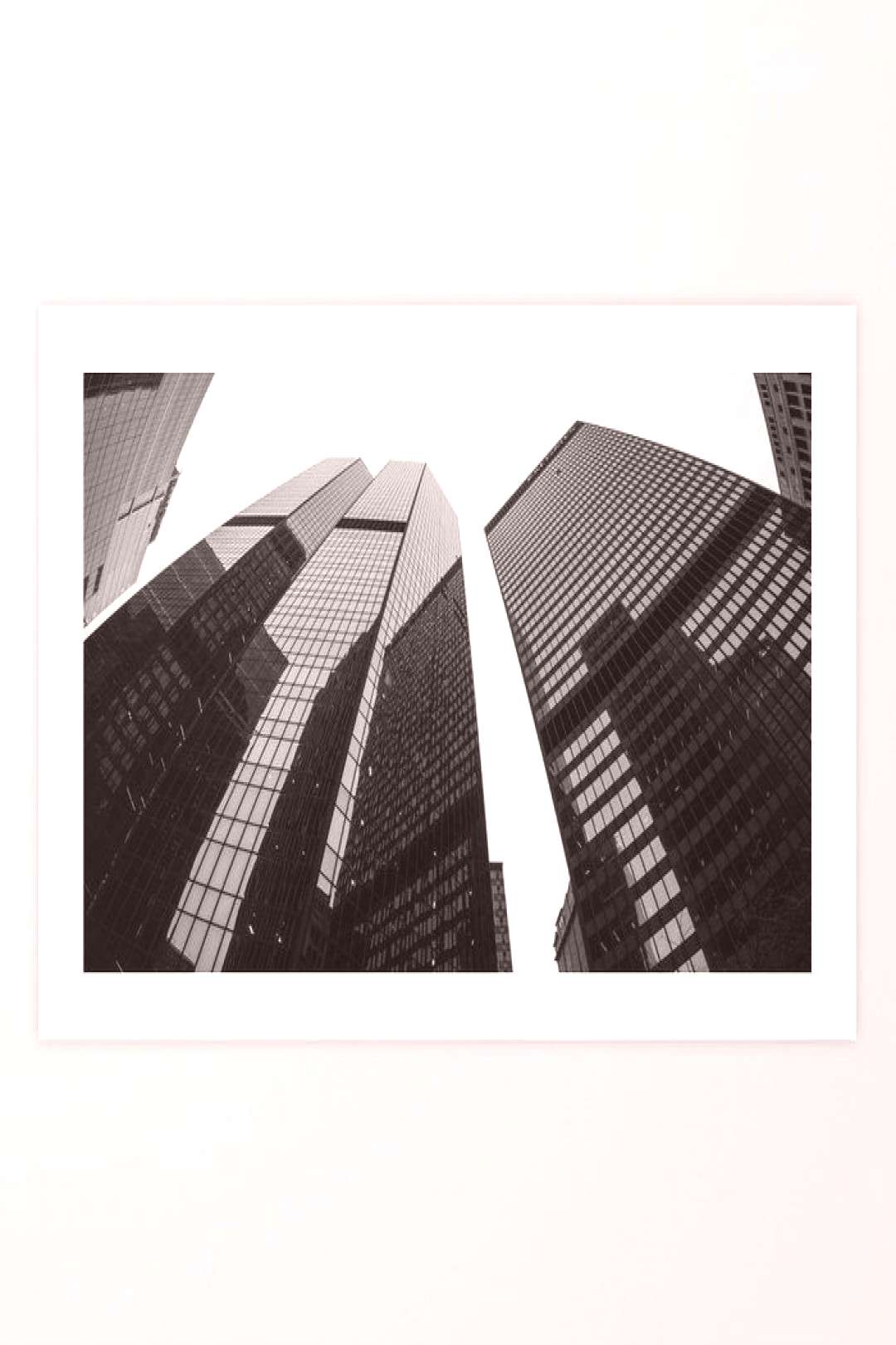 Steel Flex $18.99 Pittsburgh Skyscrapers in black and white.
