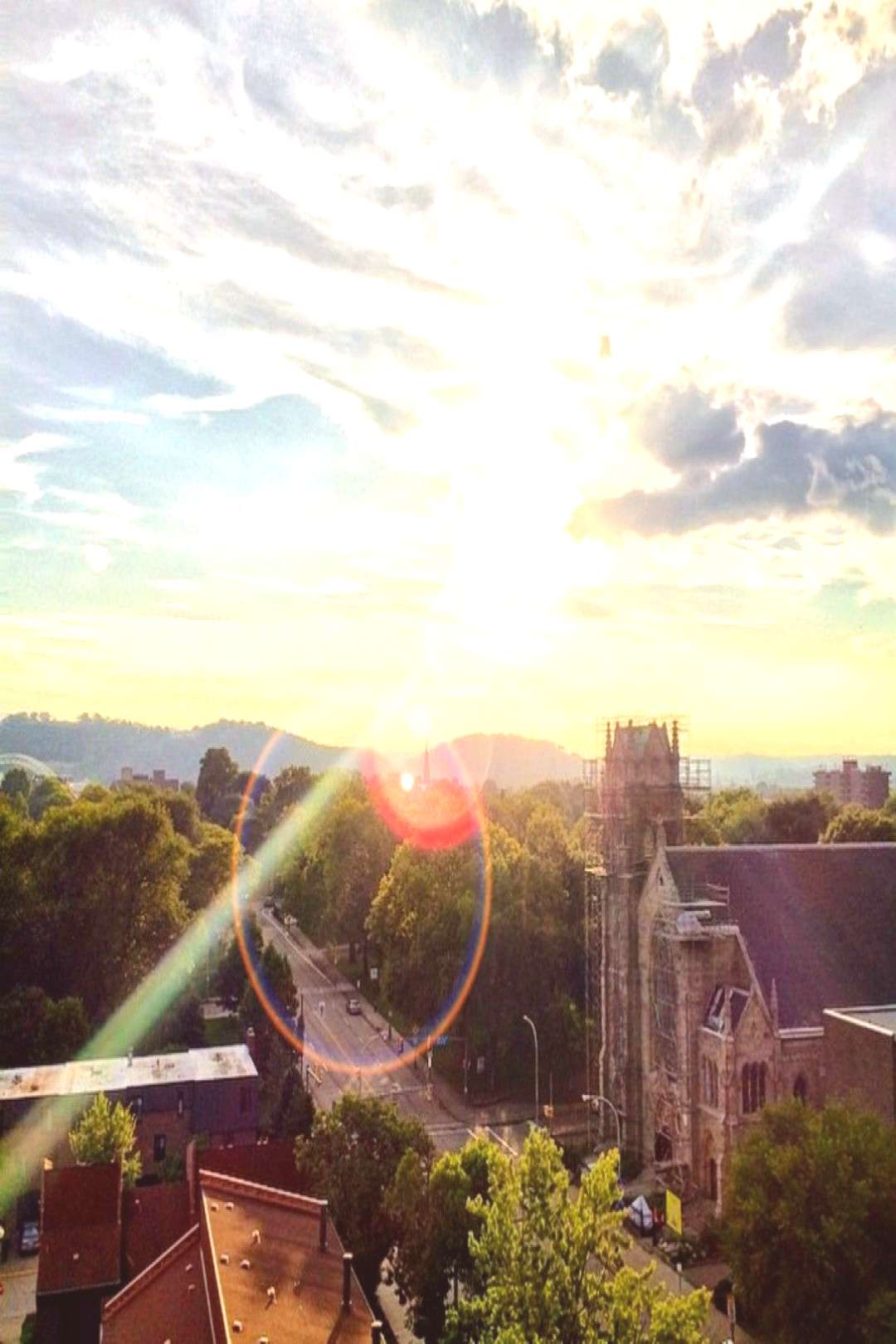 The sun shall rise again! Beautiful shot by LaMontae, sent with the Pittsburgh Beautiful app.