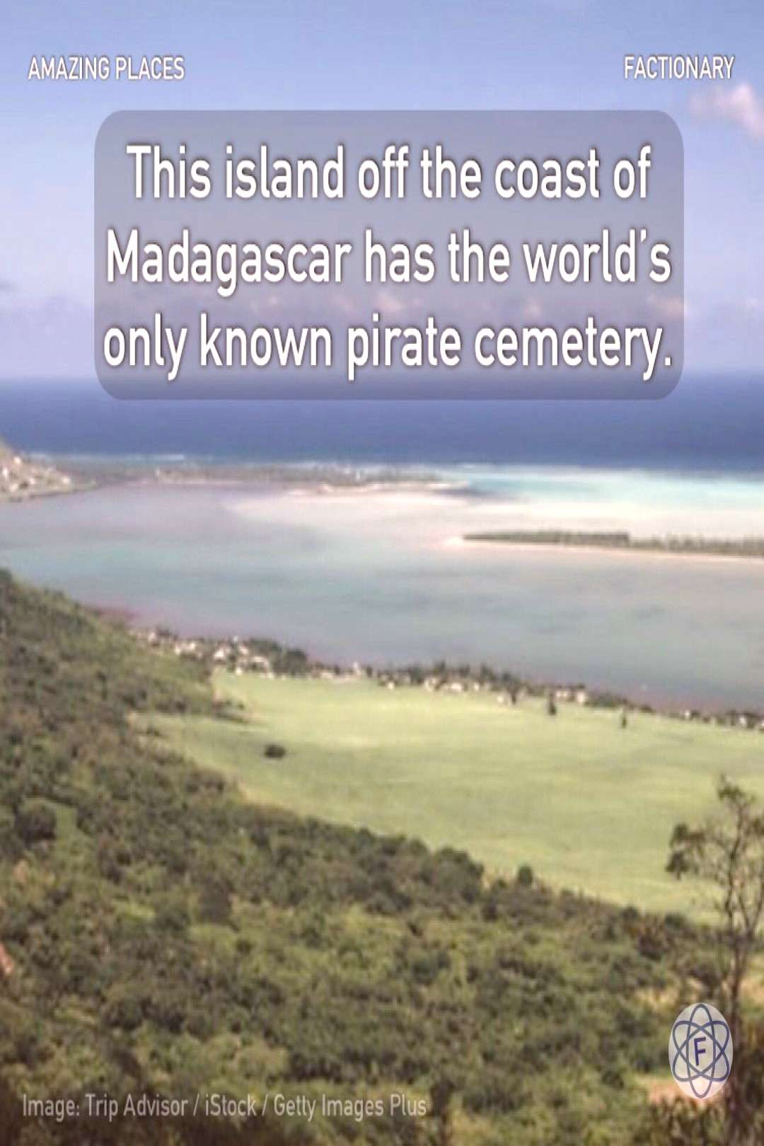 This island off the coast of Madagascar has the world's only known pirate cemetery.