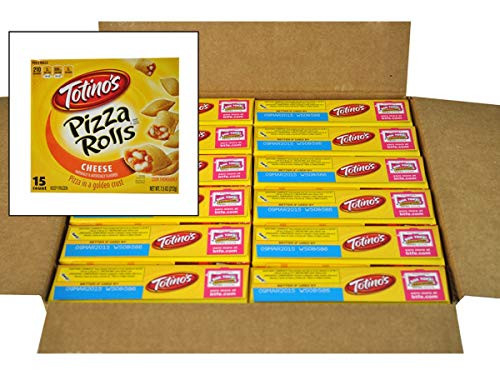 Totinos Pizza Rolls Snacks, 15 Count, Cheese, 7.5 Ounce --