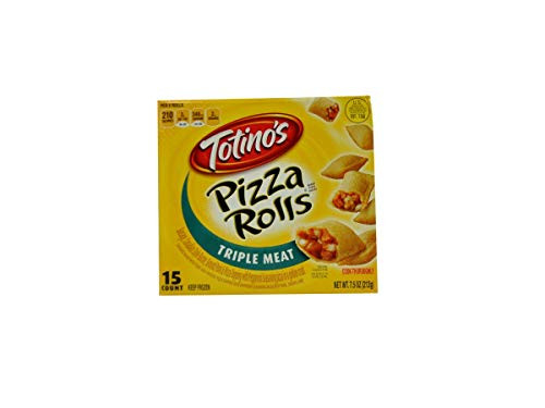 Totinos Triple Meat Pizza Rolls Snacks, 7.5 Ounce -- 12 per