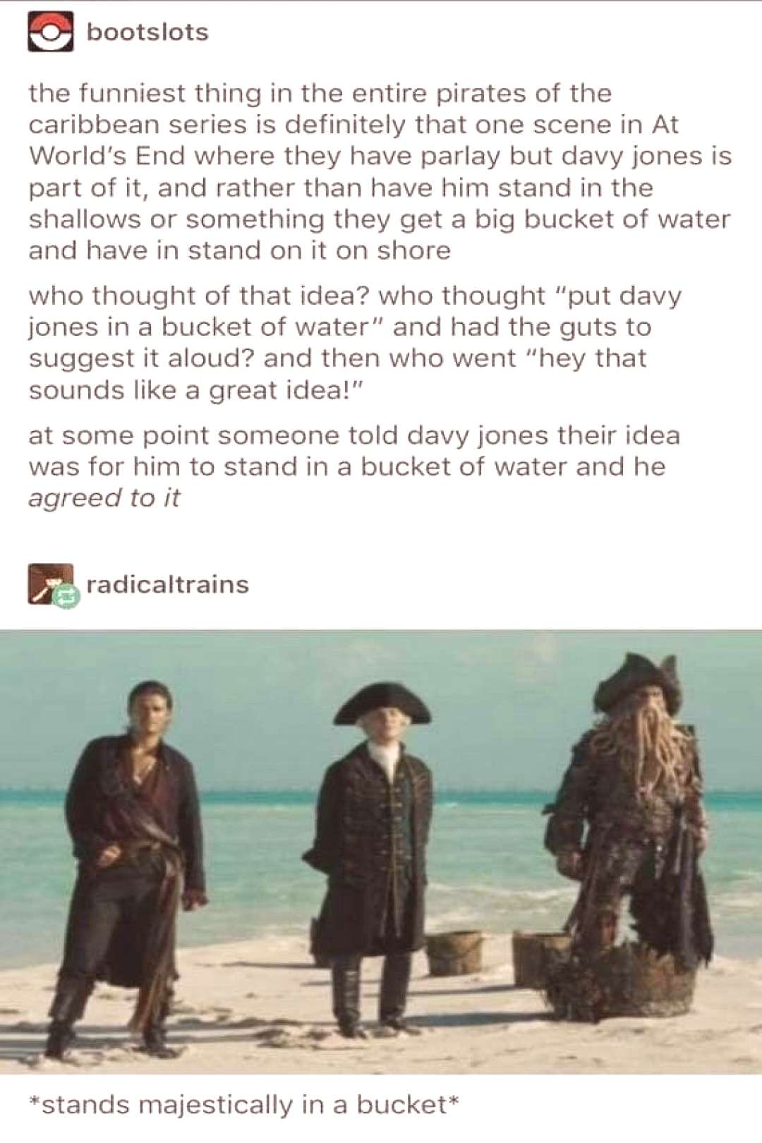 Tumblr Users Hilariously Lawyer-Out The Rules Of Davey Jones Curse When Tumblr finds a loophole, e