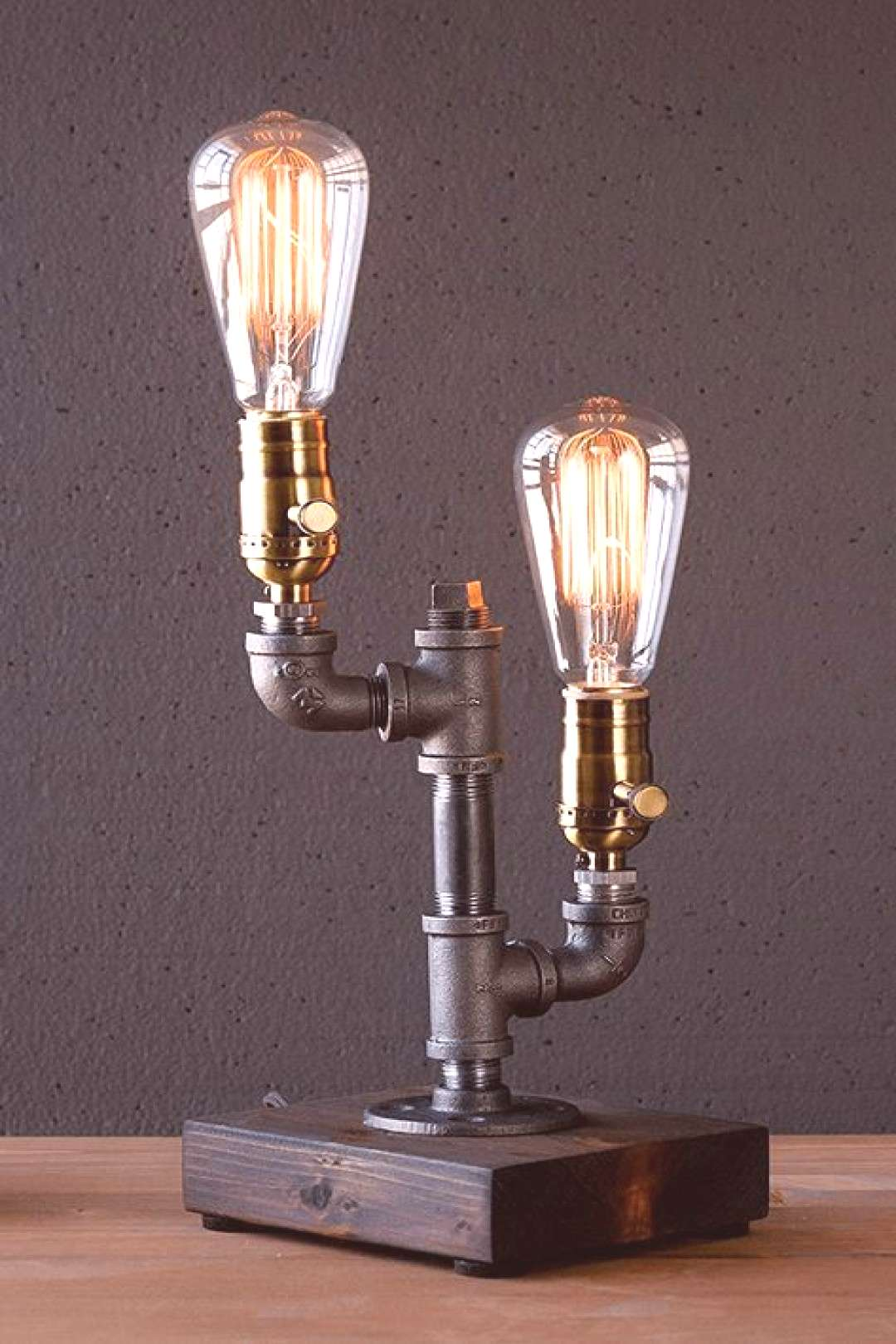 Vintage furniture ideas diy projects pipe lamp 38 Ideas for 2019